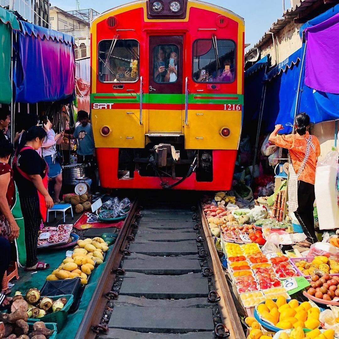 Đã dò ra đường đến khu chợ đường ray độc nhất vô nhị nằm ở ngoại ô Bangkok - Ảnh 16.
