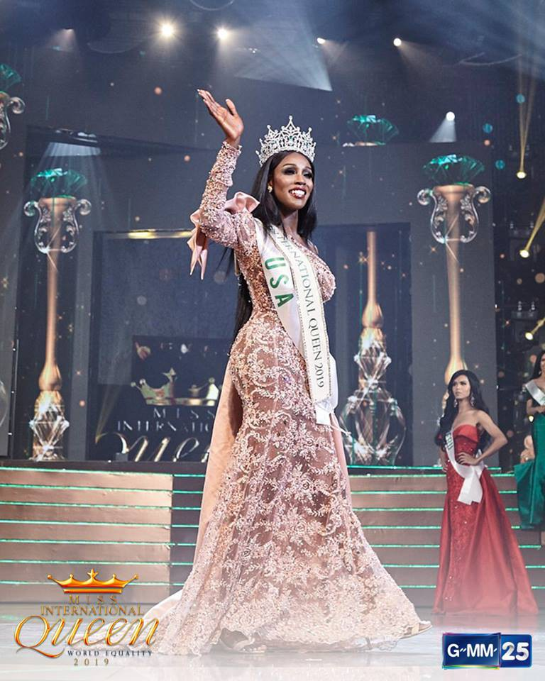 Tân Hoa hậu Chuyển giới quốc tế 2019: Vòng 1 khủng, từng lộ clip nhảy thoát y phản cảm - Ảnh 4.