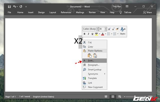Hướng dẫn cách viết công thức Hóa học chuyên nghiệp và pro trong Microsoft Word - Ảnh 3.