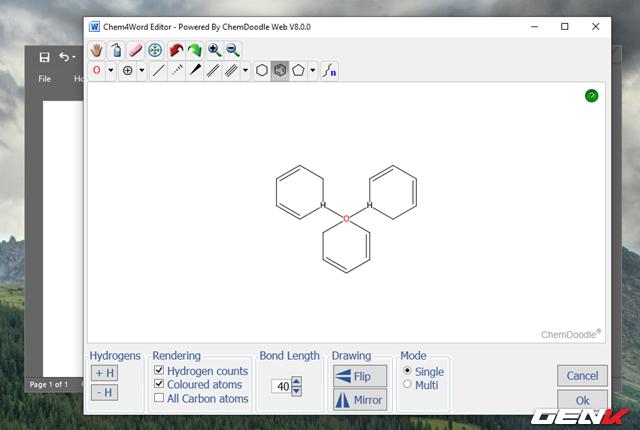 Hướng dẫn cách viết công thức Hóa học chuyên nghiệp và pro trong Microsoft Word - Ảnh 13.