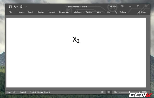 Hướng dẫn cách viết công thức Hóa học chuyên nghiệp và pro trong Microsoft Word - Ảnh 5.