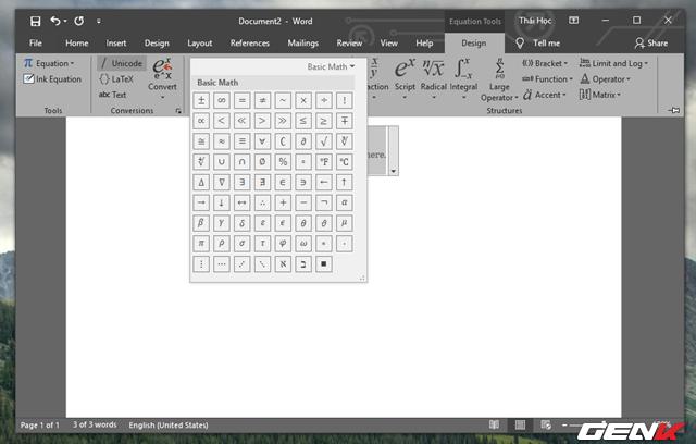 Hướng dẫn cách viết công thức Hóa học chuyên nghiệp và pro trong Microsoft Word - Ảnh 8.