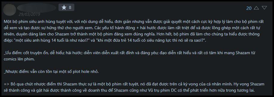 Shazam khiến cộng đồng tranh cãi gay gắt: người gọi tuyệt tác, kẻ bảo bắt chước nhưng không tới - Ảnh 2.