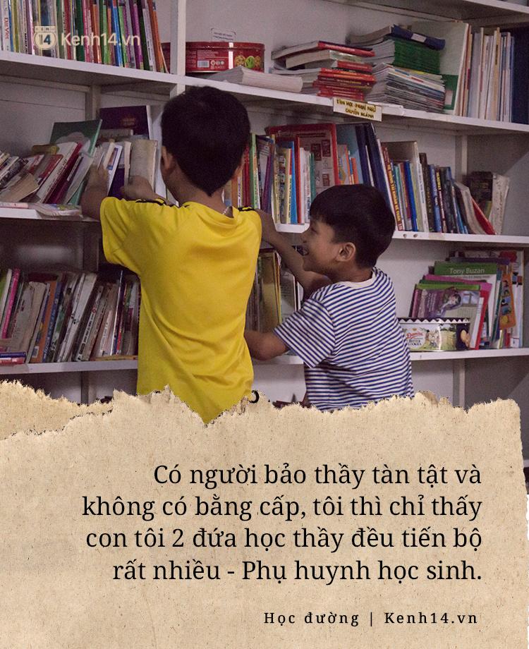 Chuyện về người thầy liệt tay chân, viết chữ bằng miệng vẫn dạy học cho trẻ em nghèo: Tôi không đi chữa bệnh vì có xu nào dành hết cho con ăn học - Ảnh 7.