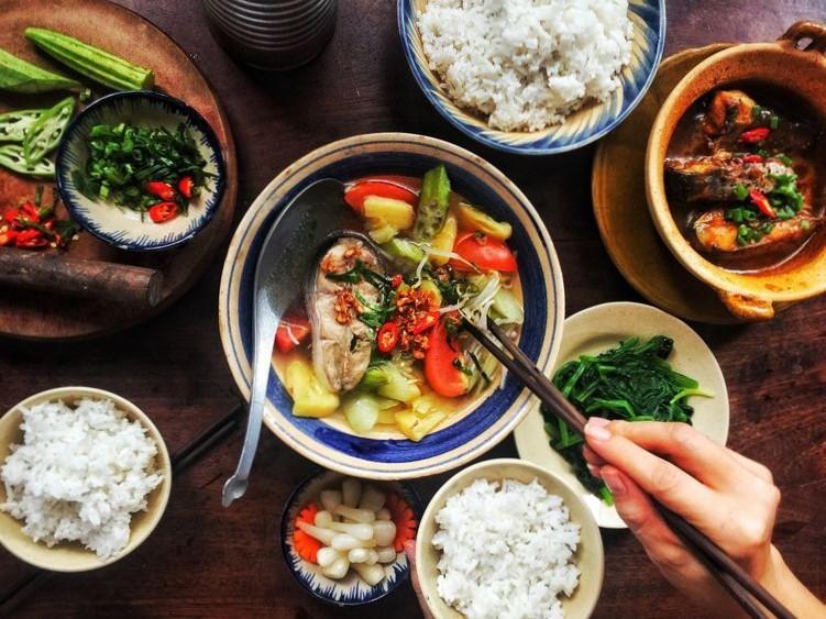 Mâm cơm của người Việt Nam: thức ăn mỗi ngày, cũng là tinh hoa nghìn năm -  Vé máy bay 247 giá rẻ Vietjet, Pacific, VietnamAirline, BamBoo Đặt Vé Online