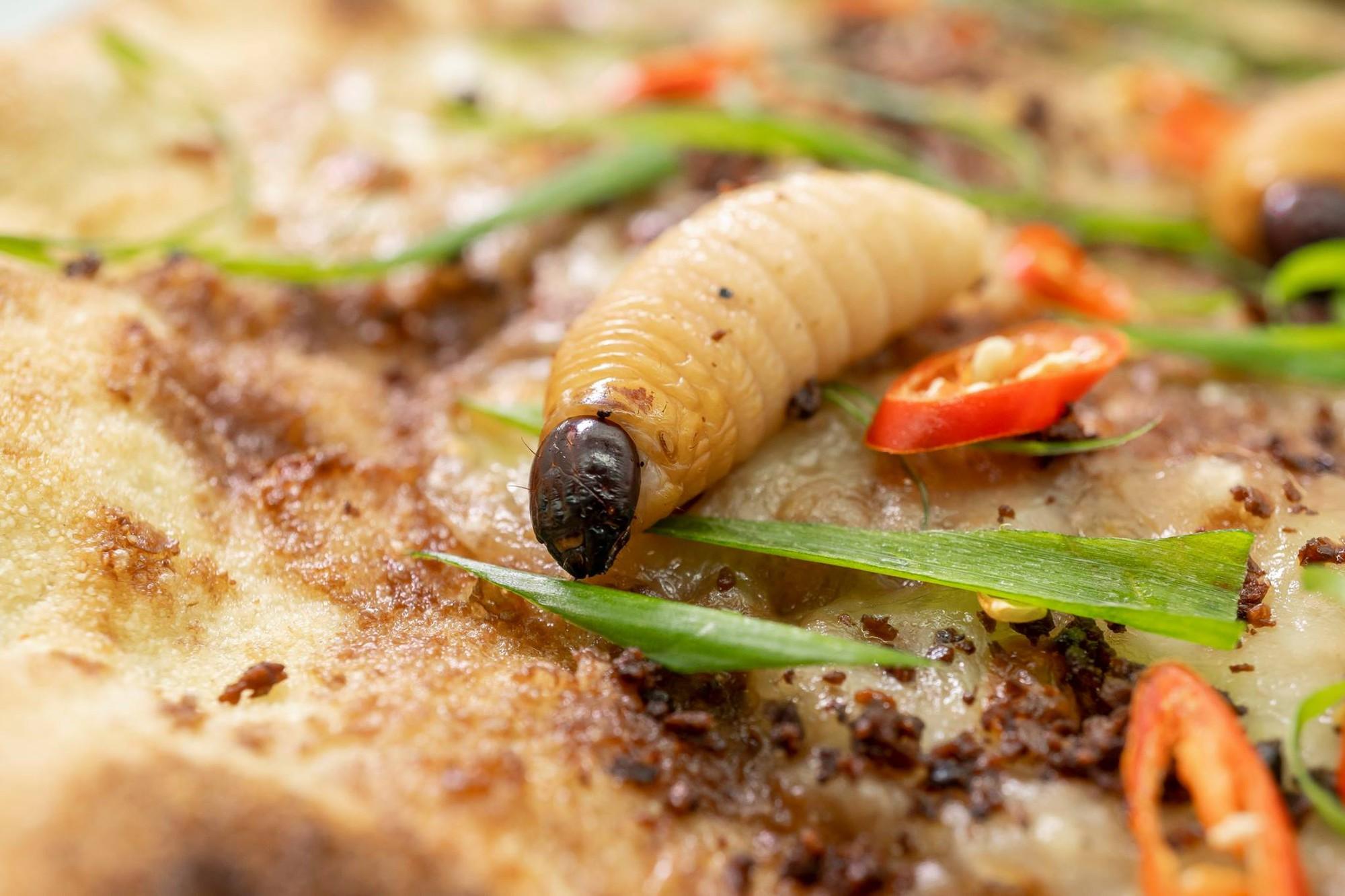 Chuyện quái gì cũng có thể xảy ra: Hà Nội xuất hiện pizza đuông dừa bò lổm ngổm gây bàng hoàng - Ảnh 7.