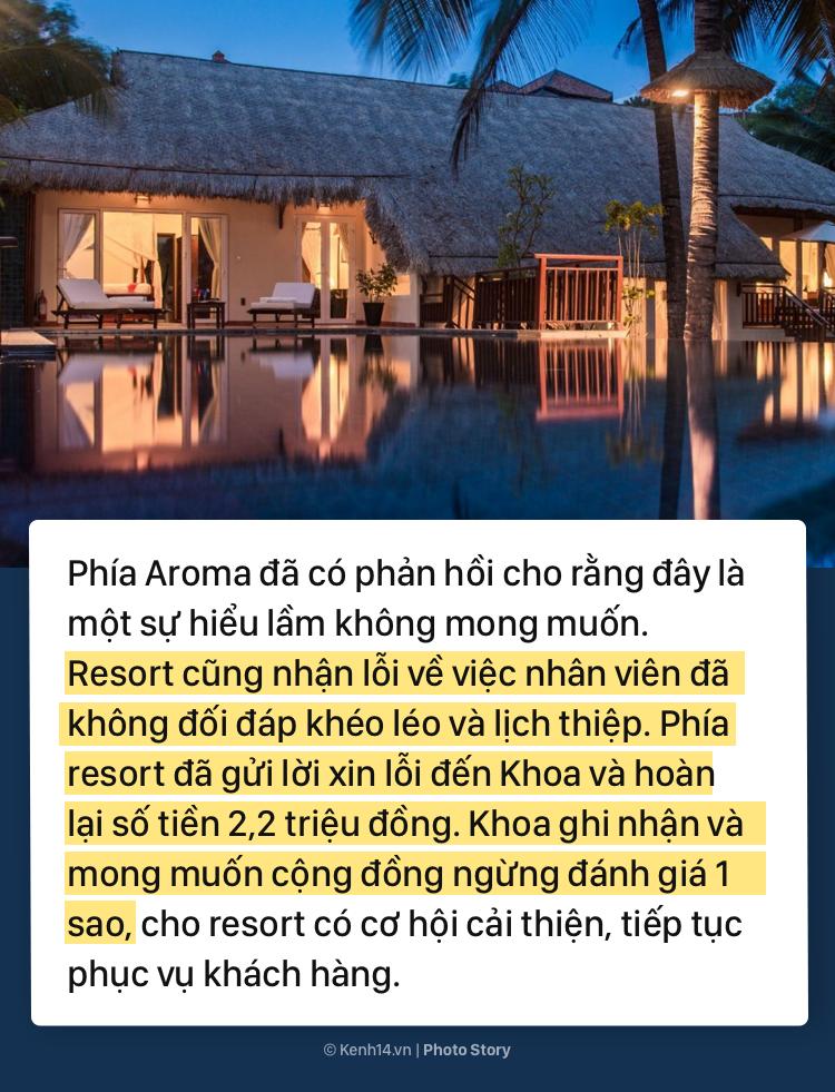 Toàn cảnh lùm xùm giữa Khoa Pug và resort Aroma ở Bình Thuận - Ảnh 11.