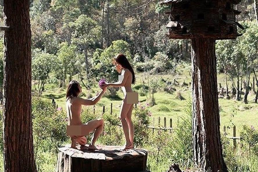 Sẽ xử lý cặp đôi chụp ảnh cưới nude tại Đà Lạt - Ảnh 1.