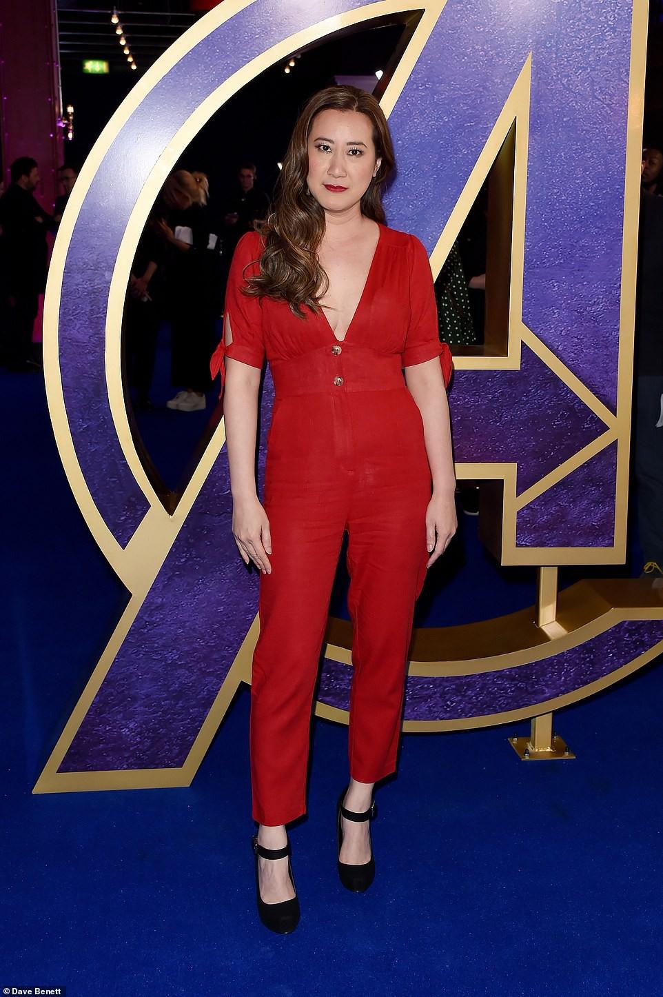 Sự kiện Avengers gây chú ý: Mỹ nhân Scarlett Johansson nơm nớp vì hở quá bạo, liên tục cười tít mắt với Thor - Ảnh 13.