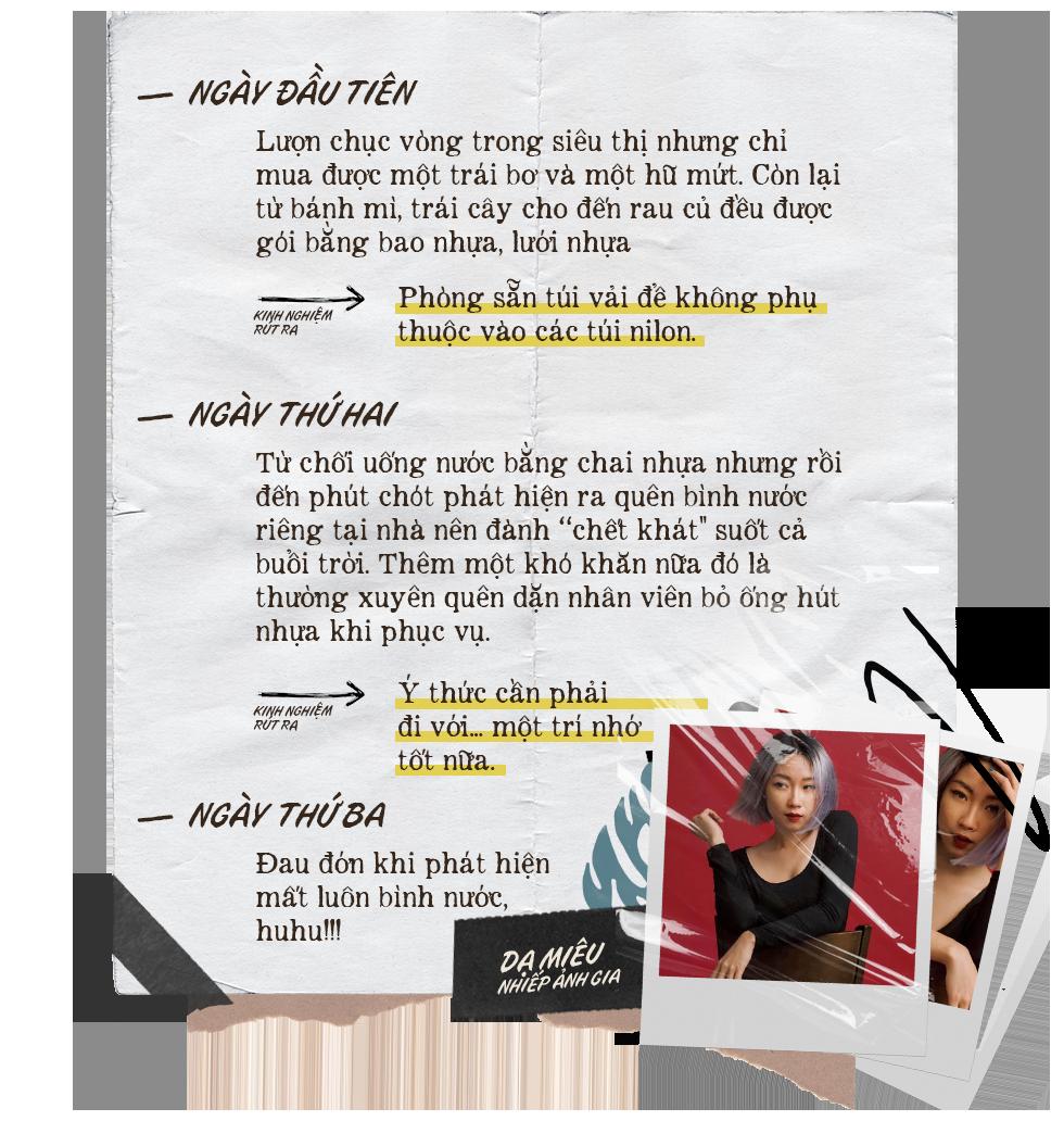 #LessPlasticChallenge: Clip 1 tuần thử sống thiếu nhựa của Châu Bùi, Dạ Miêu và Lets Play Makeup - Tưởng không khó mà khó không tưởng - Ảnh 7.