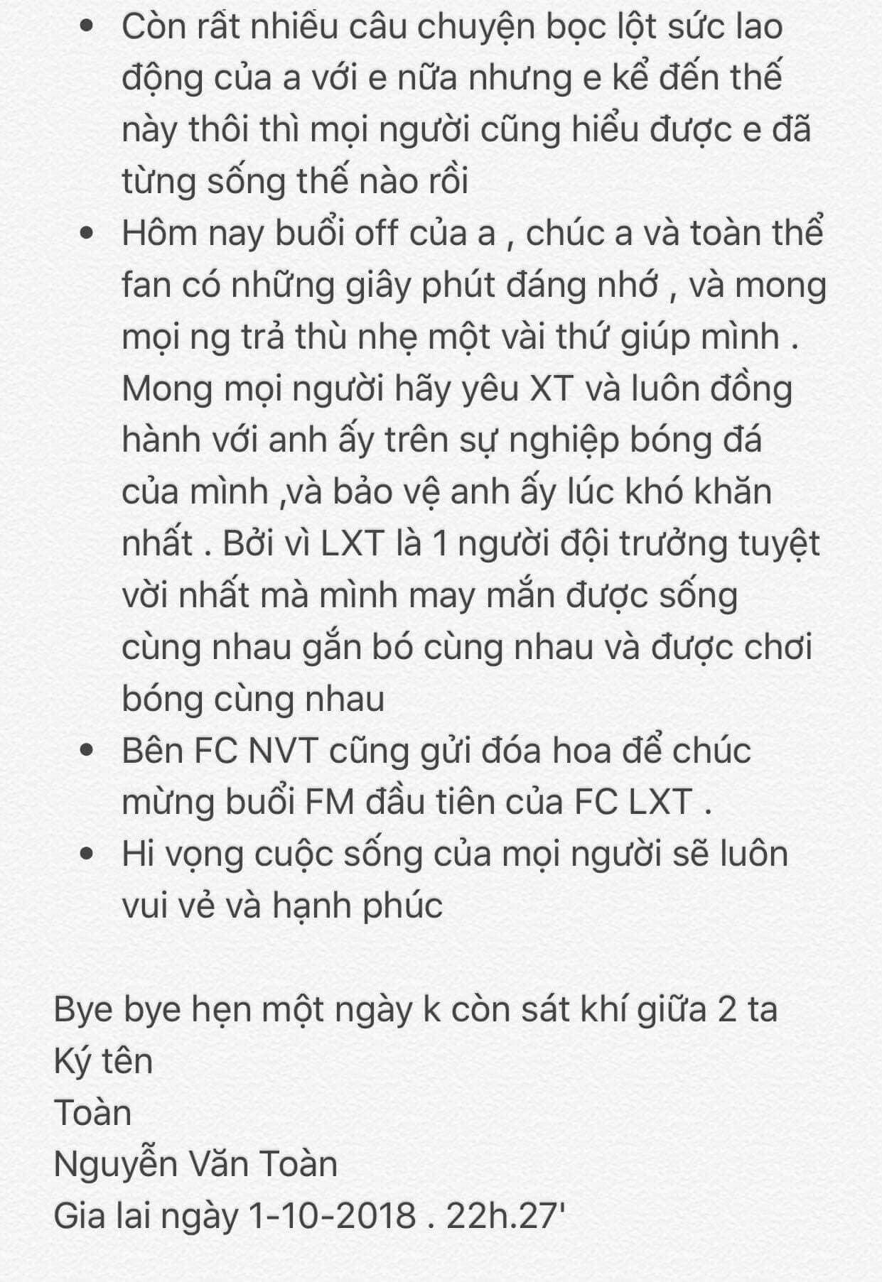 Văn Toàn viết tâm thư cho Xuân Trường: Nếu mỗi cú đấm của anh đổi ra tiền thì em đã thành tỉ phú - Ảnh 3.