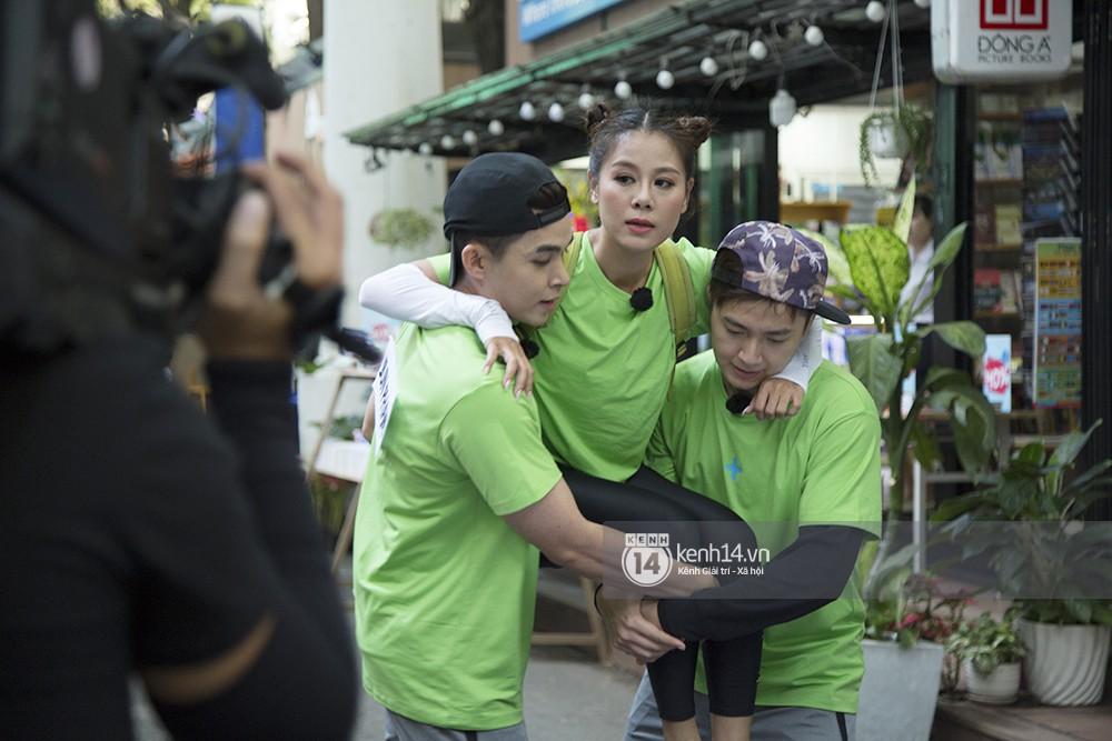 Độc quyền Running Man: Nam Thư giật tóc Lan Ngọc, ai sẽ thắng? - Ảnh 7.