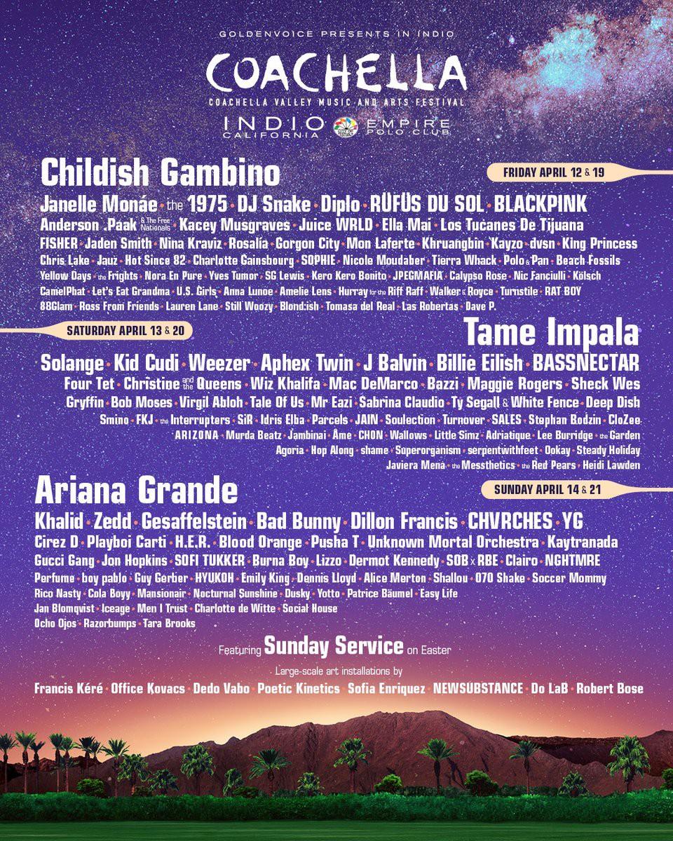 Trai xinh gái đẹp toàn thế giới hội tụ, Coachella - lễ hội âm nhạc lớn nhất hành tinh chính thức khai màn - Ảnh 2.