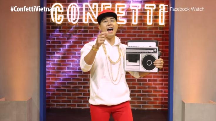 Confetti: Nguyên Khang đeo vàng, mặc đồ Hip Hop, cư dân mạng đồng loạt gọi tên Phúc XO - Ảnh 1.