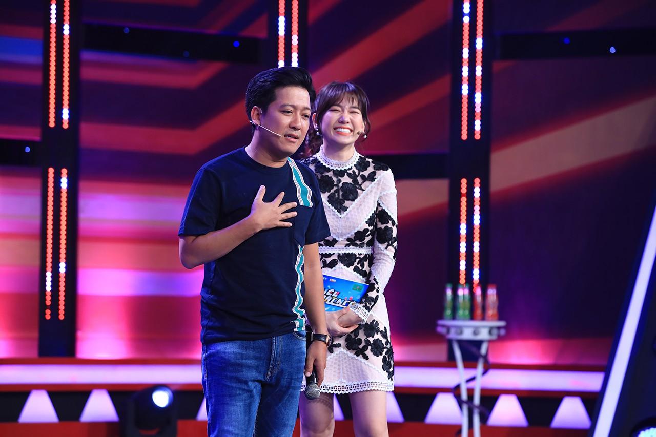 Hari Won thừa nhận bị Trấn Thành cua chỉ với một bài hát - Ảnh 3.