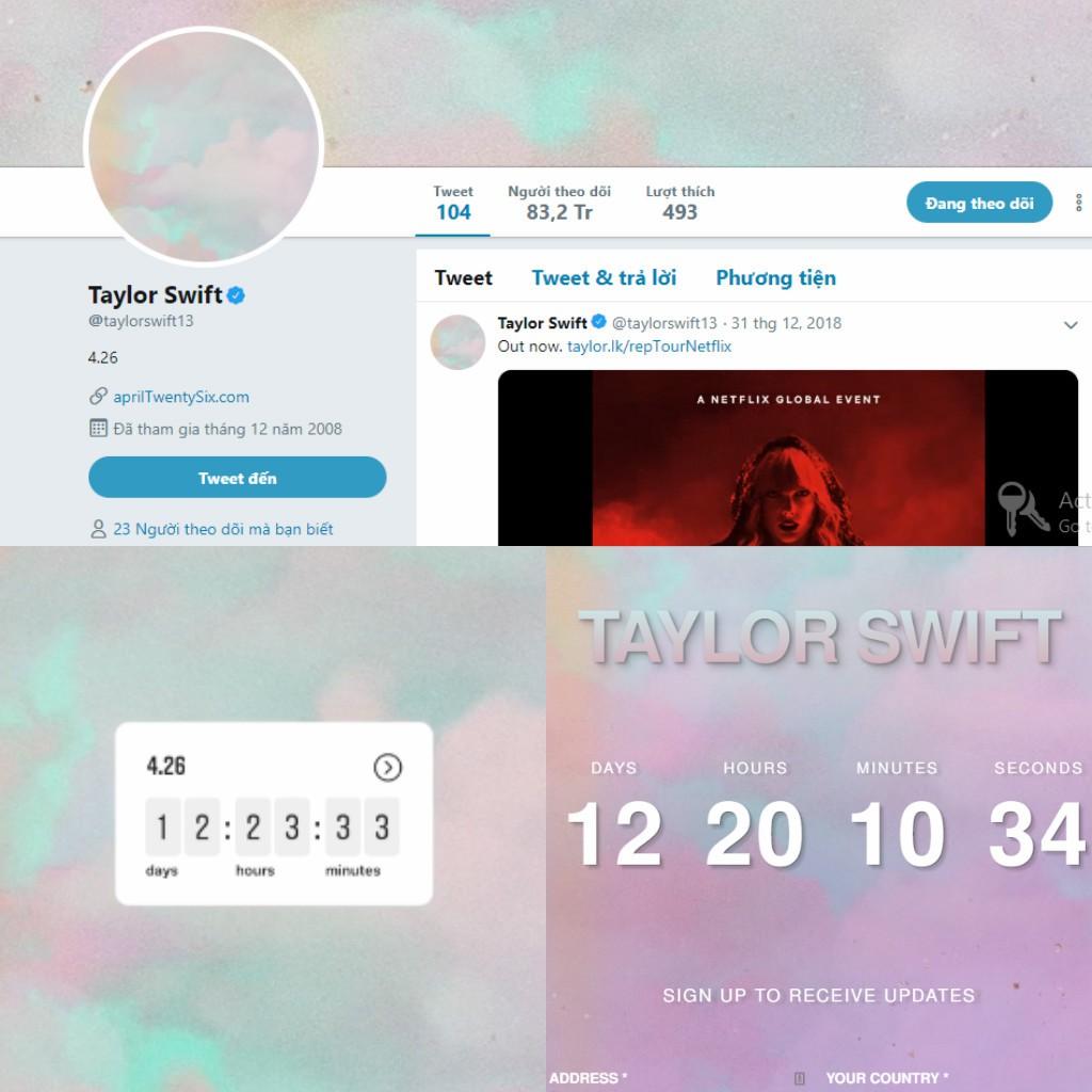 """Người hâm mộ """"đứng ngồi không yên"""", Taylor Swift thỏa mãn vì lý do đặc biệt này - Ảnh 1."""