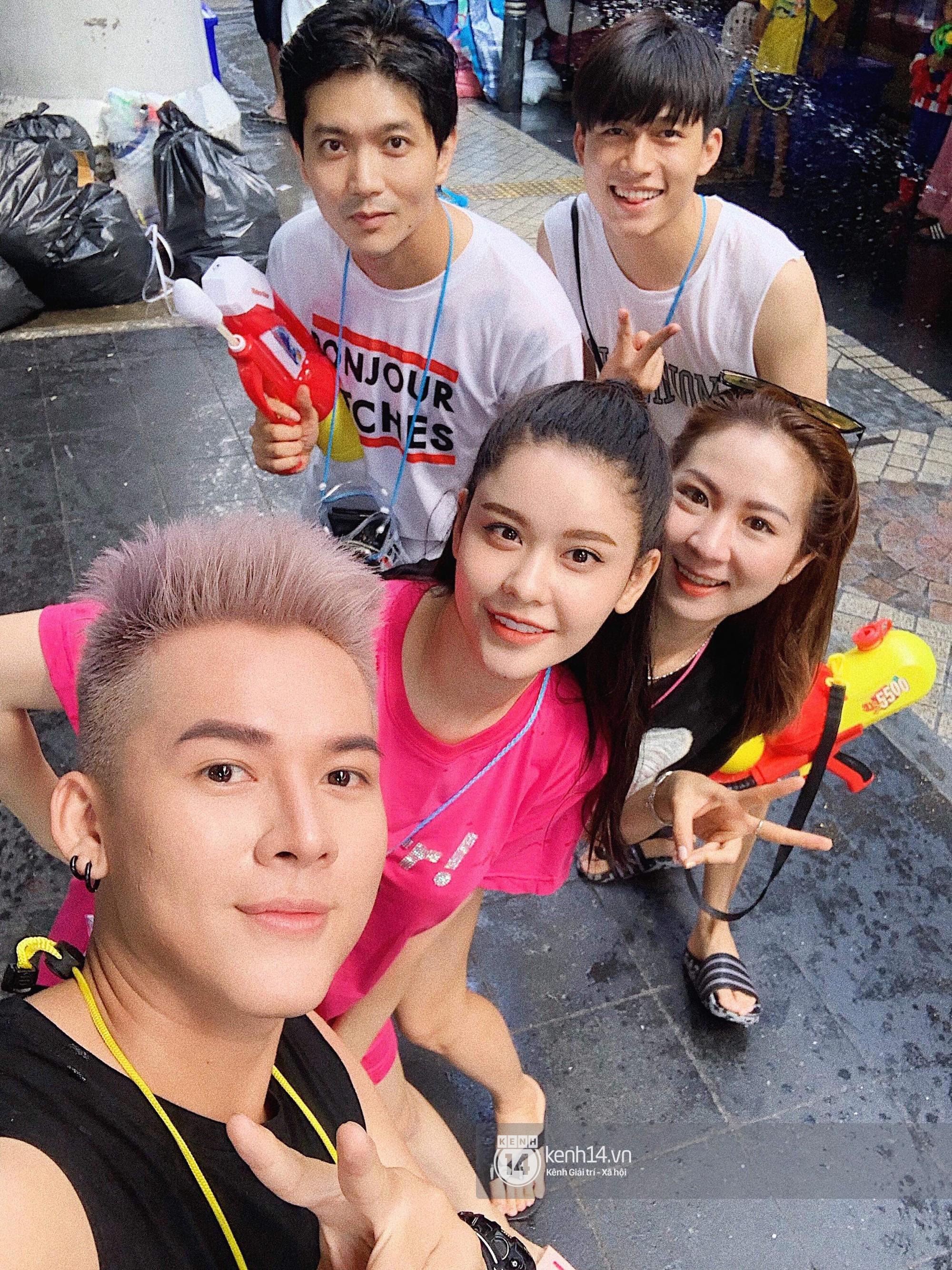 Hàng ngàn bạn trẻ Việt đang đổ về Bangkok để hoà vào dòng người chơi té nước Songkran! - Ảnh 5.