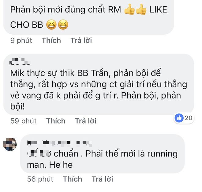Cư dân mạng khi thấy BB Trần phản bội Nam Thư tại Running Man: Chơi vậy mới vui - Ảnh 4.