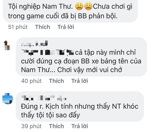 Cư dân mạng khi thấy BB Trần phản bội Nam Thư tại Running Man: Chơi vậy mới vui - Ảnh 7.