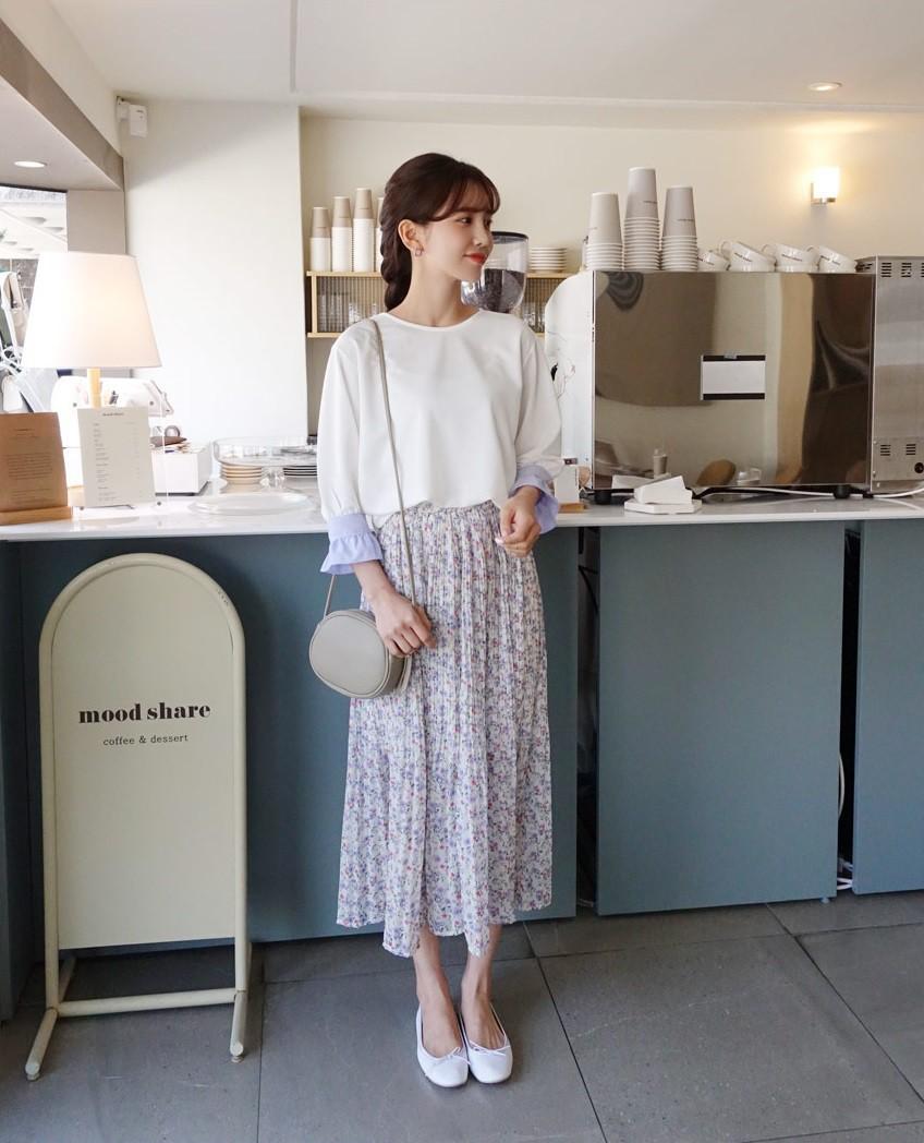 Chân váy hoa hè 2019 xinh đến mức có thể khiến bạn tiếc nuối khôn nguôi nếu không sắm ngay cho mình - Ảnh 10.