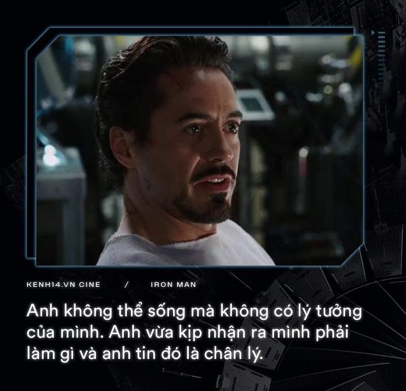 Hơn cả thập kỉ mặc giáp, gia tài của Iron Man là 9 câu thoại cực chất! - Ảnh 2.