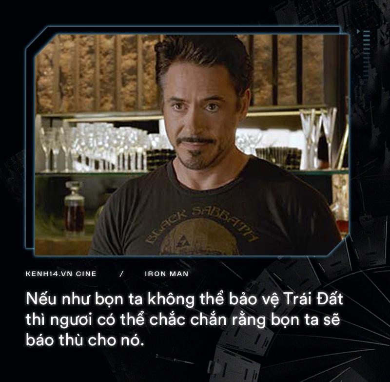 Hơn cả thập kỉ mặc giáp, gia tài của Iron Man là 9 câu thoại cực chất! - Ảnh 4.