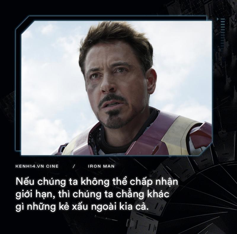 Hơn cả thập kỉ mặc giáp, gia tài của Iron Man là 9 câu thoại cực chất! - Ảnh 7.