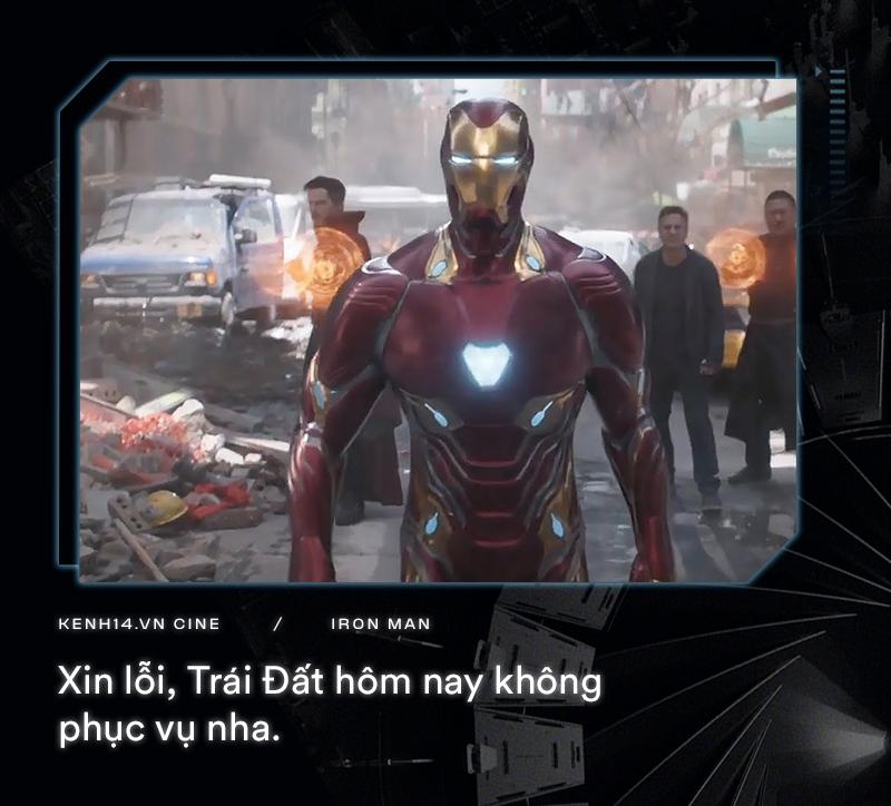Hơn cả thập kỉ mặc giáp, gia tài của Iron Man là 9 câu thoại cực chất! - Ảnh 8.