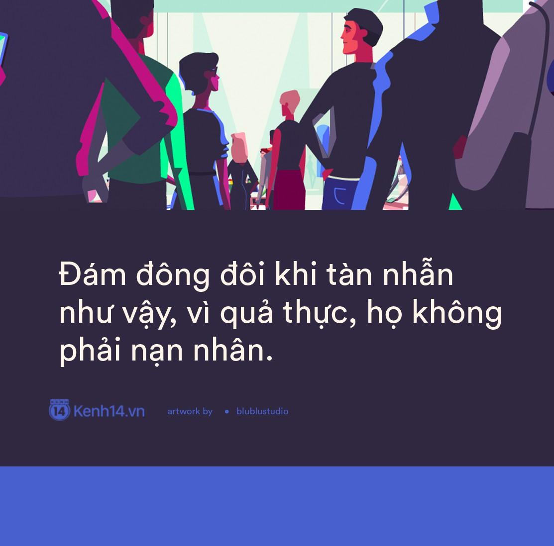 Từ chuyện cả Facebook xin link clip hotgirl: Đám đông đôi khi tàn nhẫn như vậy, vì họ không phải là nạn nhân - Ảnh 1.