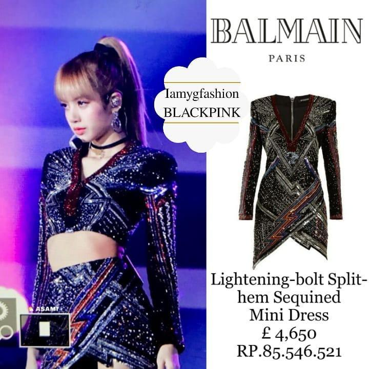 Diện váy trước Trương Ngọc Ánh, Lisa (Black Pink) sexy hơn hẳn nhờ công sáng tạo của stylist - Ảnh 6.