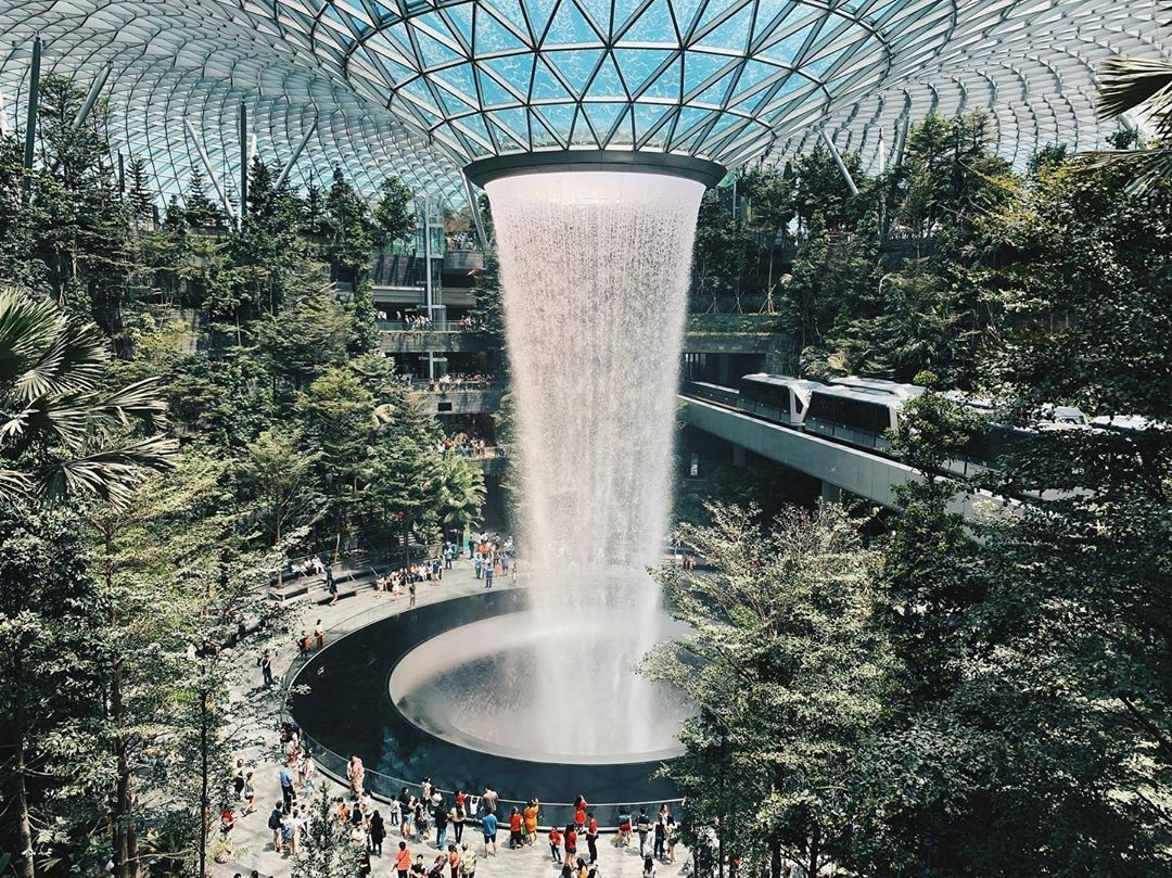 Vừa mới khai trương, khu phức hợp Jewel tại sân bay Changi - Singapore đã chiếm trọn spotlight trên MXH - Ảnh 13.
