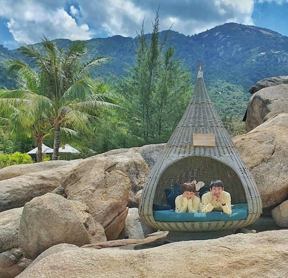 Sao Vbiz người du lịch nghỉ dưỡng, người dành cả kỳ nghỉ lễ để ở bên một nửa yêu thương - Ảnh 14.