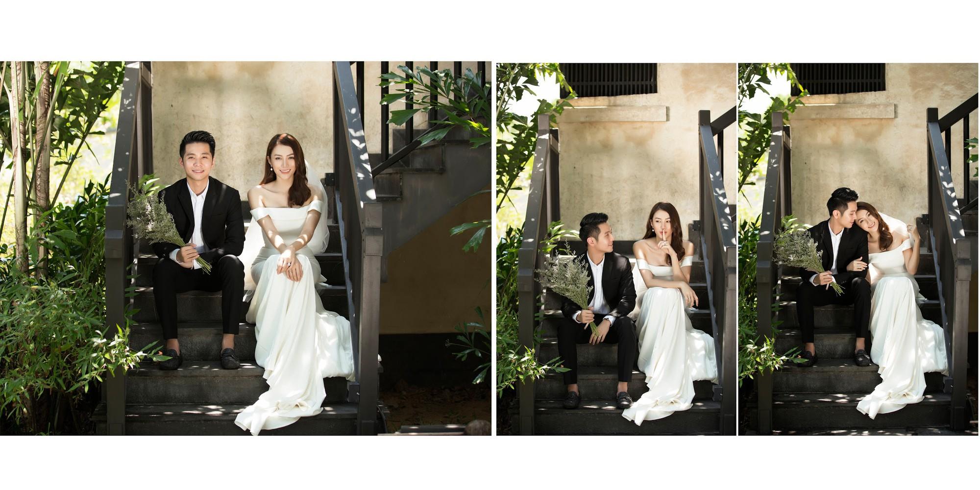 Cận ngày trọng đại, Lê Hà tung trọn bộ ảnh cưới lãng mạn chẳng kém phim Hàn cùng hôn phu điển trai - Ảnh 16.