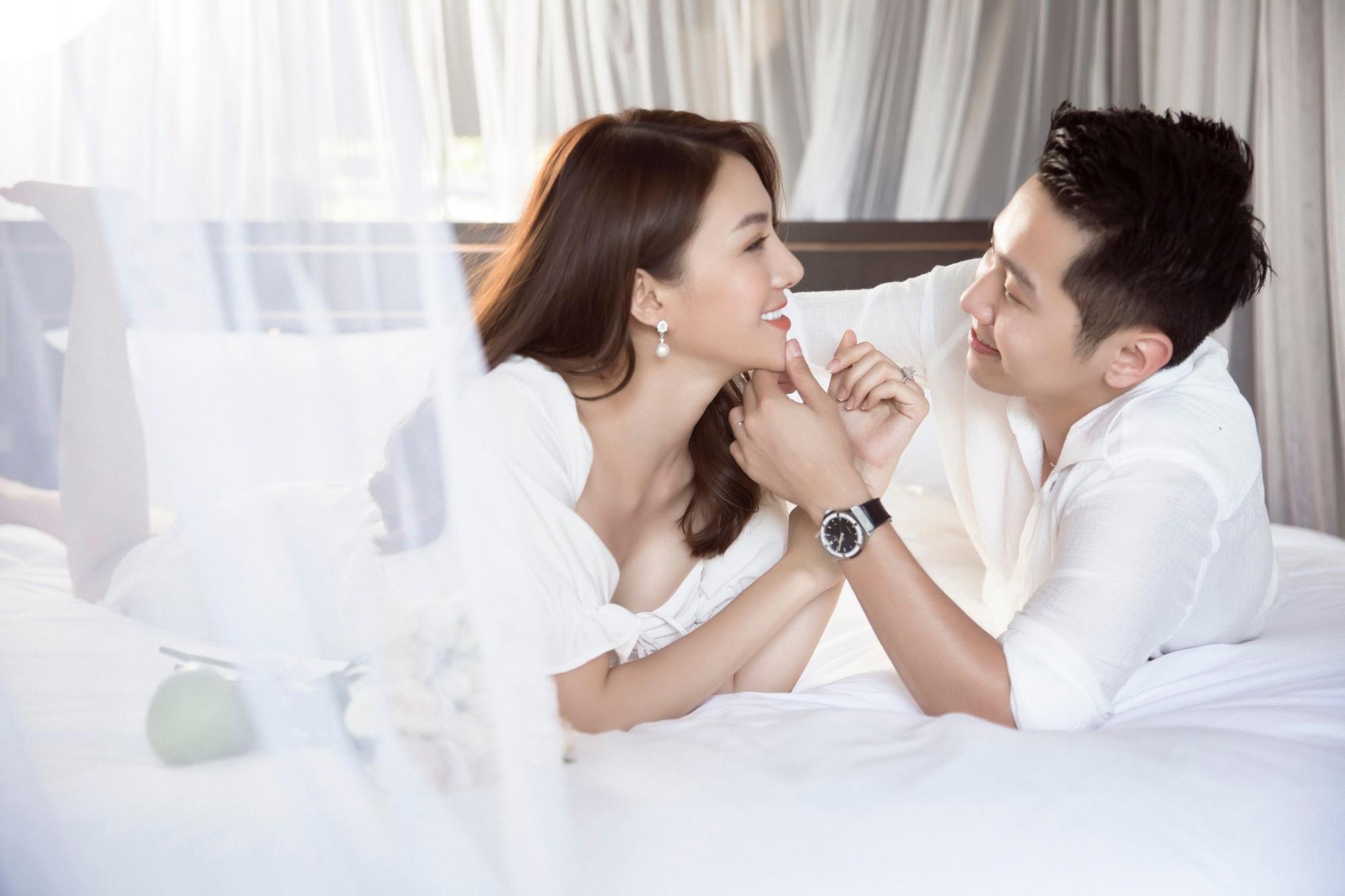 Cận ngày trọng đại, Lê Hà tung trọn bộ ảnh cưới lãng mạn chẳng kém phim Hàn cùng hôn phu điển trai - Ảnh 14.