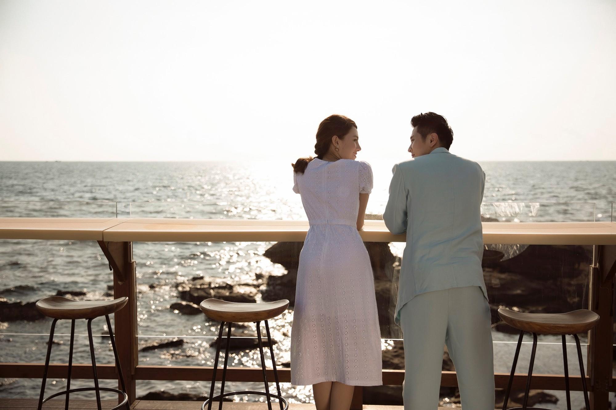 Cận ngày trọng đại, Lê Hà tung trọn bộ ảnh cưới lãng mạn chẳng kém phim Hàn cùng hôn phu điển trai - Ảnh 5.