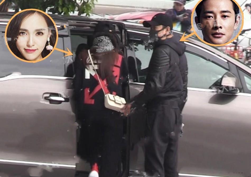 Paparazzi tiết lộ chùm ảnh La Tấn cùng bố vợ hộ tống Đường Yên tới bệnh viện khám thai? - Ảnh 5.