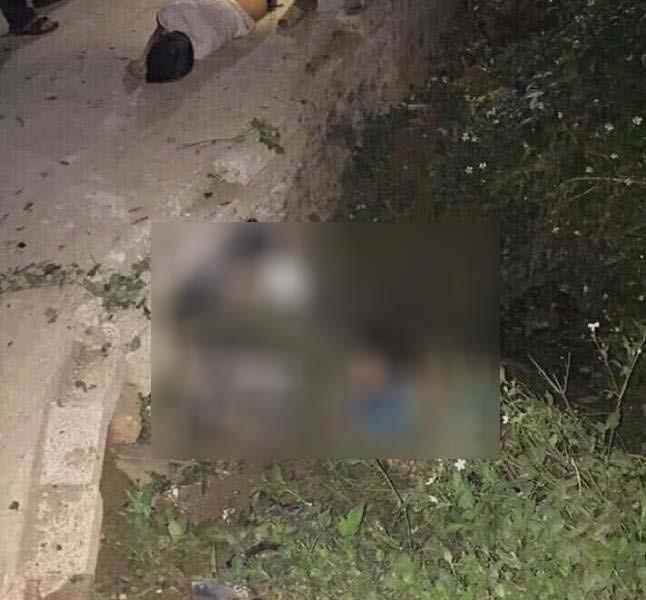 Đâm vào cống ven đường, 3 nam sinh tử vong tại chỗ - Ảnh 1.