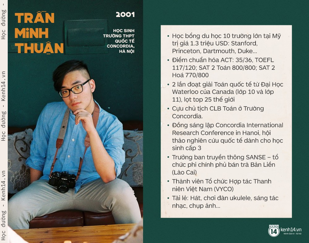 Male student In 2001, he received a $ 1.3 million US research scholarship to improve the environment in Vietnam. - Picture 1.