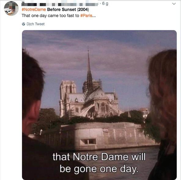 """Khán giả rùng mình nhớ lại cảnh phim """"tiên tri vụ cháy Nhà thờ Đức Bà Paris: """"Một ngày nào đó toà nhà sẽ biến mất - Ảnh 5."""