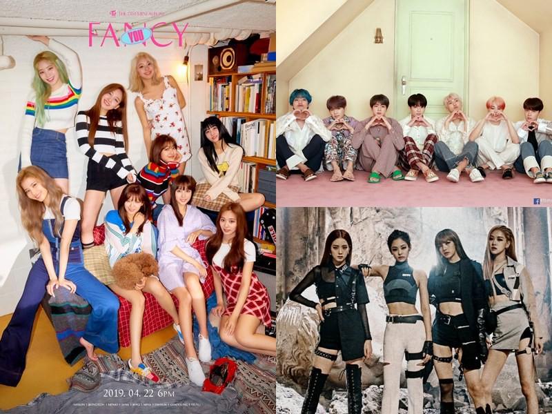 """TWICE """"lọt thỏm"""" giữa màn comeback của BTS và BLACKPINK: Cần làm gì nếu không muốn ngôi """"hậu"""" lâm nguy? - Ảnh 1."""
