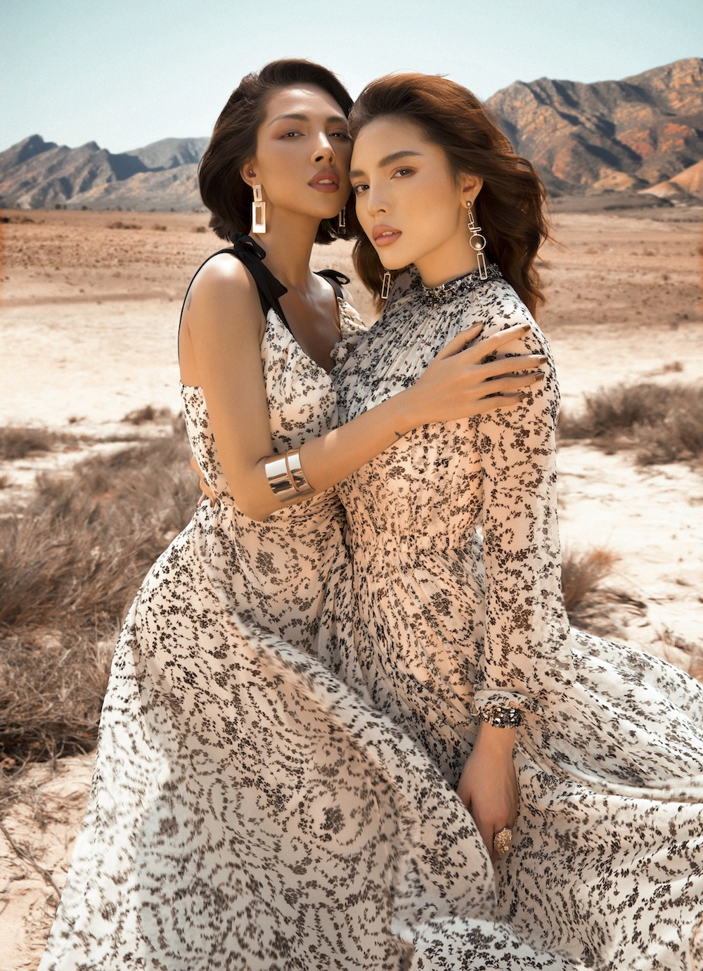 Ki Duyen and Minh Trieu became more and more attached and passionately accepted among the desert - Photo 8.