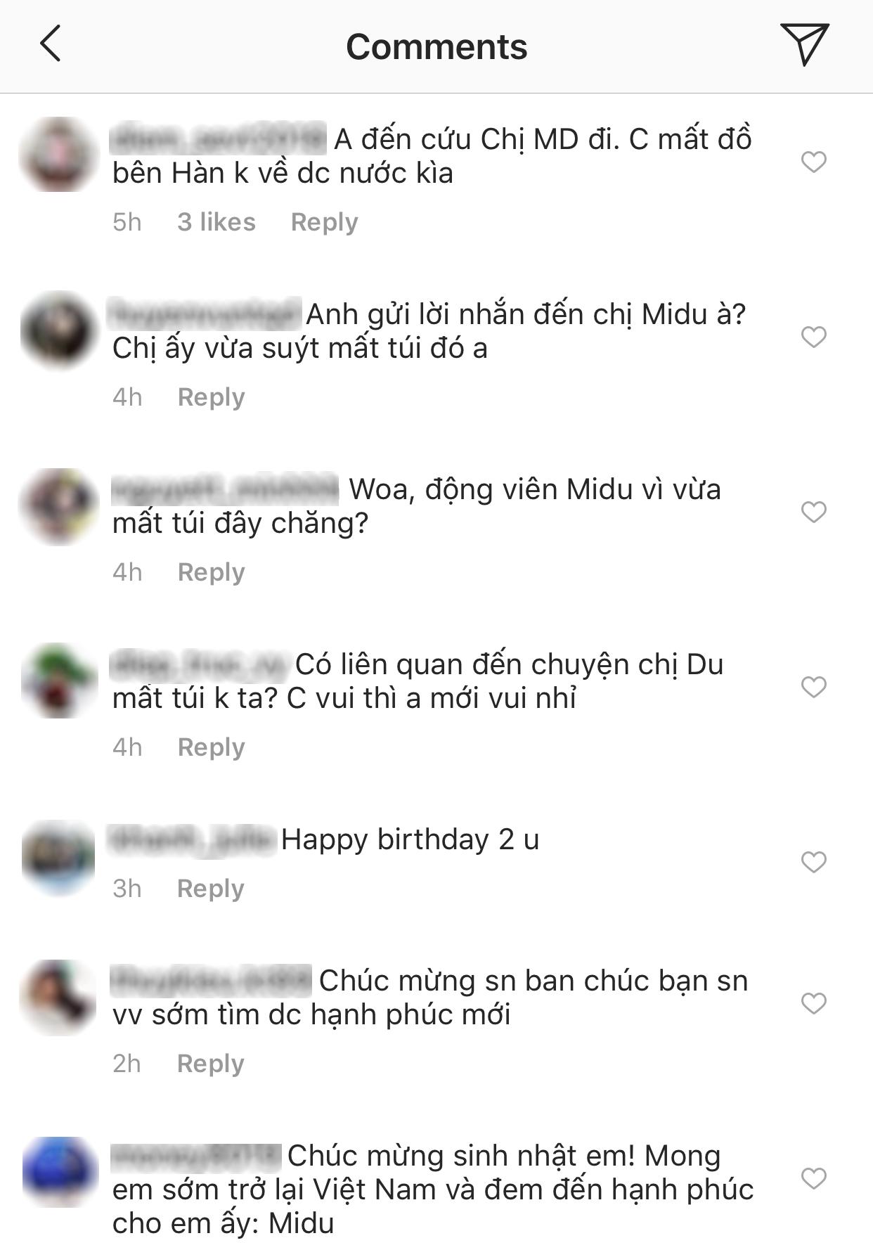 Phan Thành tự chúc mừng sinh nhật mình nhưng fan tràn vào hỏi: Anh gửi lời hỏi thăm Midu mất túi đó à? - Ảnh 3.