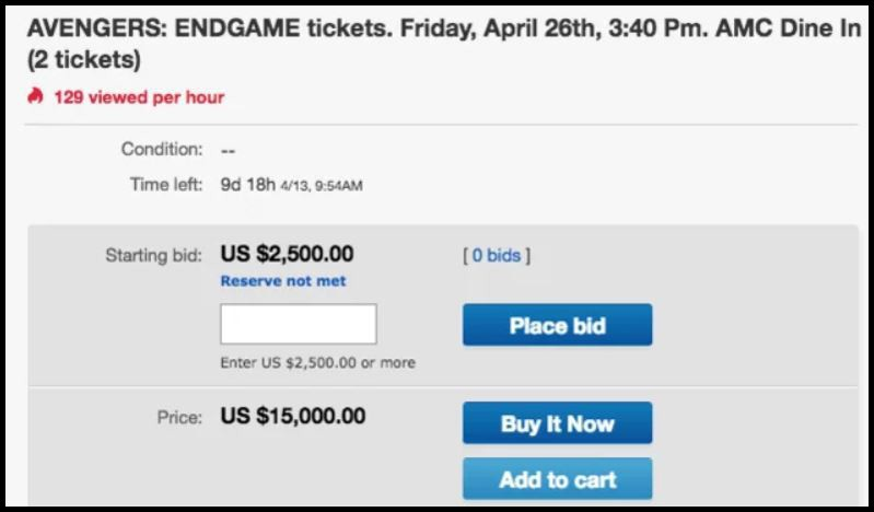 Đã xuất hiện phe vé chợ đen cho Avengers: Endgame tại Việt Nam: Nè em gái, một vé là 300! - Ảnh 1.