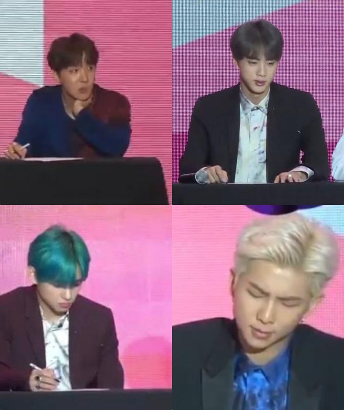 Phản ứng gây bão của BTS khi bị hỏi về vụ đạo nhái: RM, Jungkook khó chịu ra mặt, thành viên này xử đẹp như boss - Ảnh 7.