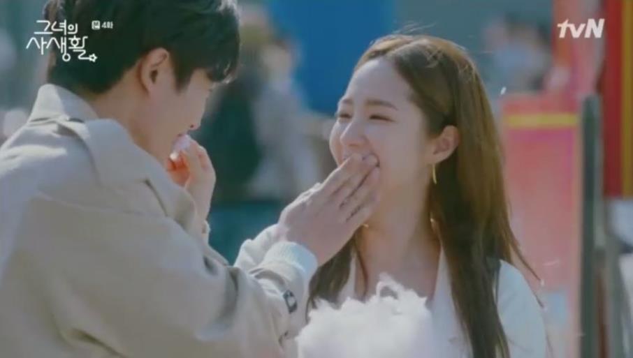 Sướng như Park Min Young, có chủ tịch mặt ngầu đeo tai thỏ làm người tình bình phong trong Her Private Life - Ảnh 5.