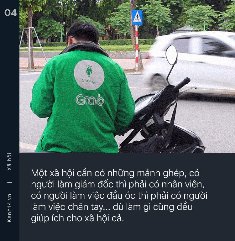 Tốt nghiệp ĐH rồi chạy Grab 2 năm, chàng trai gây tranh cãi vì quan điểm: Hà Nội không dành cho những kẻ sinh ra từ làng như chúng ta - Ảnh 3.