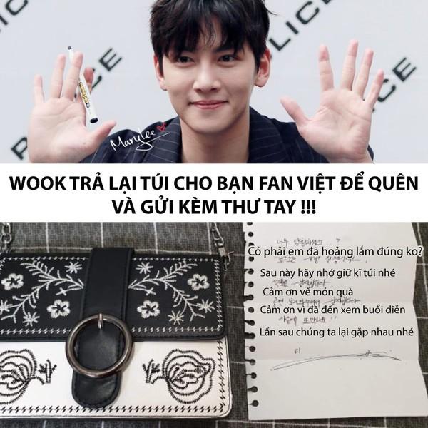 Fan girl người Việt để quên túi xách trong giỏ quà tặng Ji Chang Wook, hành động của chàng tài tử đình đám mới bất ngờ! - Ảnh 1.