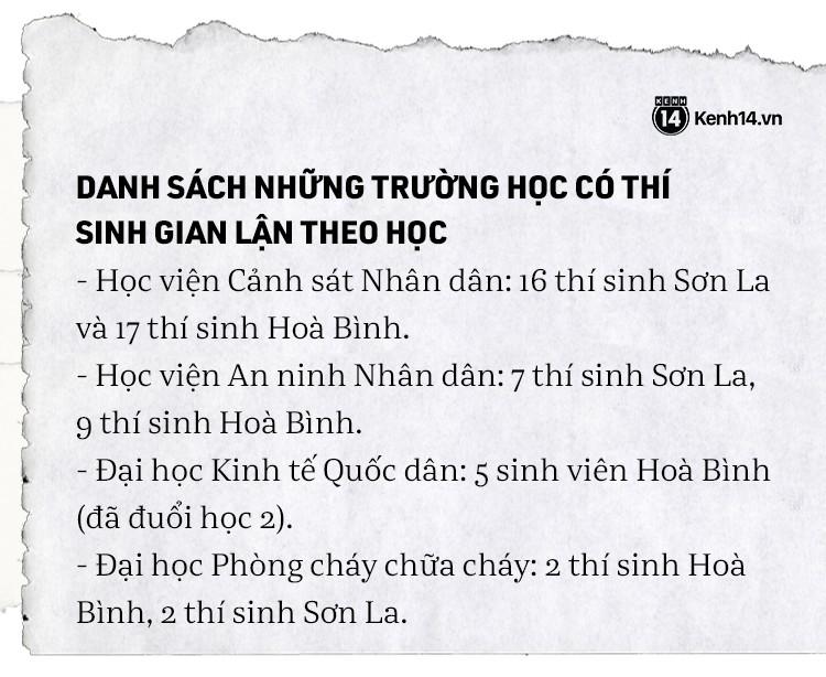 Toàn cảnh bê bối sửa điểm chấn động của 222 thí sinh Hà Giang, Sơn La, Hoà Bình: Thủ khoa rởm đỗ Y Đa khoa, Cảnh sát, Công an - Ảnh 6.