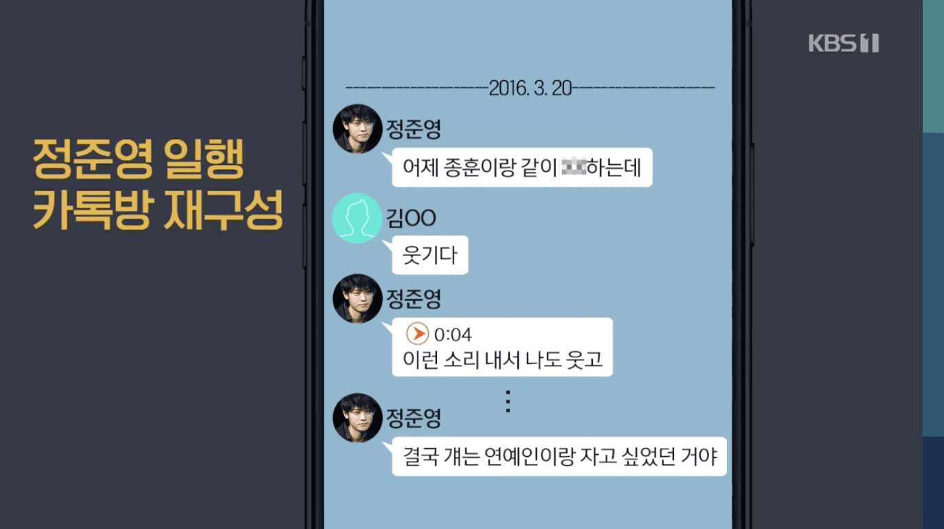 Rùng mình đoạn chat cợt nhả thô tục về vụ hiếp dâm tập thể của Jung Joon Young, Choi Jong Hoon trong chatroom - Ảnh 3.