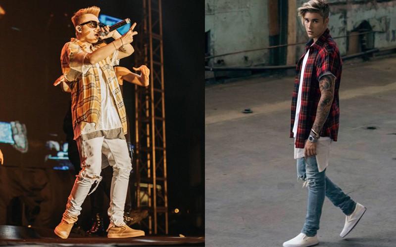 Phong cách của Sơn Tùng ngày hôm nay chẳng hiểu sao cứ na ná Justin Bieber của ngày hôm qua - Ảnh 2.